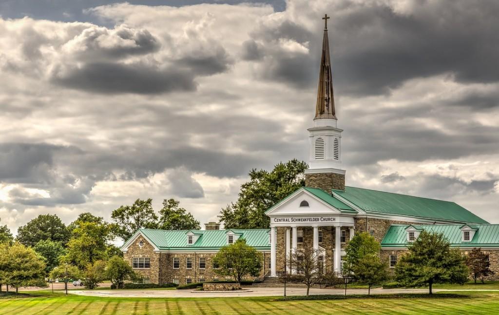 kościół Szwenkfeldystów w w USA